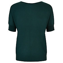 Buy Jaeger Cashmere Slouchy Top, Green Online at johnlewis.com