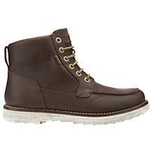 Buy Geox Shoovy Amphibiox Boots, Chestnut Online at johnlewis.com