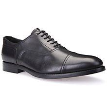 Buy Geox Hampstead Oxford Shoes, Black Online at johnlewis.com