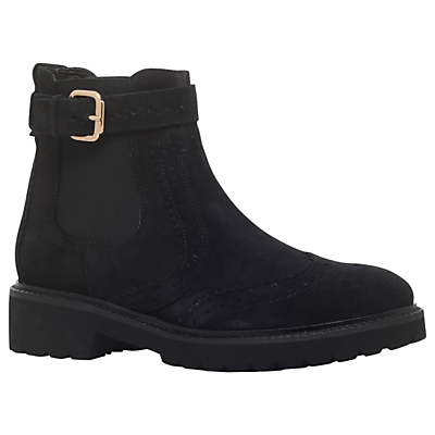 Carvela Slowly Buckle Ankle Boots, Grey.