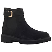 Buy Carvela Slowly Buckle Ankle Boots, Grey Online at johnlewis.com
