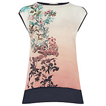 Buy Oasis Far East Top, Multi Online at johnlewis.com