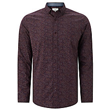 Buy John Lewis Geo Print Party Shirt, Purple Online at johnlewis.com