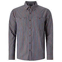 Buy JOHN LEWIS & Co. Massachusetts Stripe Shirt, Navy Online at johnlewis.com