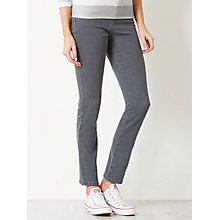 Buy John Lewis Straight Leg Jeans, Grey Online at johnlewis.com