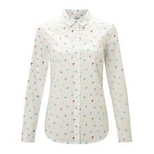 Buy John Lewis Butterfly Print Shirt, Multi Online at johnlewis.com