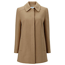 Buy John Lewis Jenny A Line Coat, Camel Online at johnlewis.com