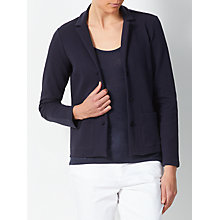 Buy John Lewis Jersey Jacket, Navy Online at johnlewis.com