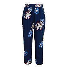 Buy John Lewis Girls' Printed Trousers, Insignia Blue Online at johnlewis.com