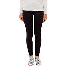 Buy Ted Baker Avivi Sateen Skinny Jeans, Navy Online at johnlewis.com