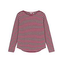 Buy Fat Face Breton Marl Stripe Top Online at johnlewis.com