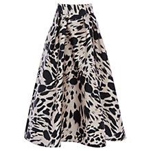 Buy Coast Animal Print Meslita Skirt, Multi Online at johnlewis.com