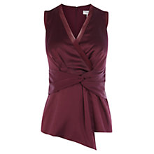 Buy Coast Alaysia Top, Merlot Online at johnlewis.com