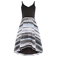 Buy Coast Shorter Length Riley Stripe Skirt Dress, Multi Online at johnlewis.com