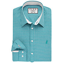 Buy Thomas Pink Herbie Gingham Check Slim Fit Shirt Online at johnlewis.com