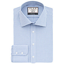 Buy Thomas Pink Greenwood Check XL Sleeve Slim Fit Shirt Online at johnlewis.com