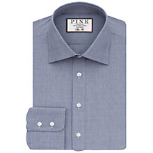 Buy Thomas Pink Anders Check Slim Fit Shirt, Navy/White Online at johnlewis.com