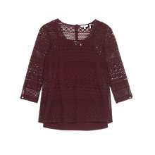 Buy Fat Face Vanessa Lace 2 In 1 Top Online at johnlewis.com