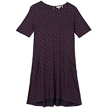 Buy Fat Face Simone Wheatsheaf Dress, Navy Online at johnlewis.com