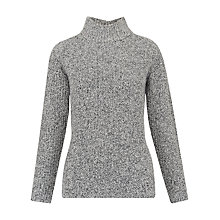 Buy Whistles Anderson Split Jumper, Grey Online at johnlewis.com