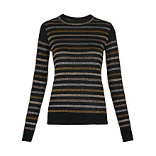 Buy Whistles Colour Block Sparkle Jumper, Multi Online at johnlewis.com