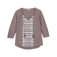 Buy Fat Face Carines Embroidered Top Online at johnlewis.com