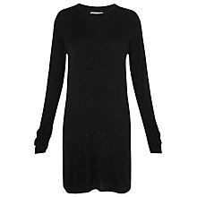 Buy Whistles Annie Sparkle Dress, Black Online at johnlewis.com