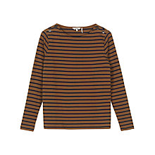 Buy Fat Face Issey Stripe Crew Top Online at johnlewis.com