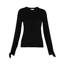 Buy Whistles Sparkle Tie Cuff Jumper Online at johnlewis.com