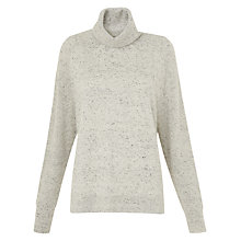 Buy Whistles Donegal Roll Neck Cashmere Jumper, Multi Online at johnlewis.com