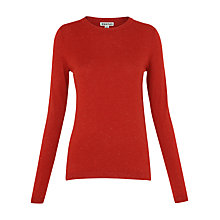 Buy Whistles Annie Sparkle Knit Top, Red Online at johnlewis.com