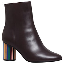 Buy Kurt Geiger Noble Block Heeled Ankle Boots Online at johnlewis.com