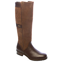 Buy Dubarry Fermoy Goretex Long Boots, Walnut Online at johnlewis.com