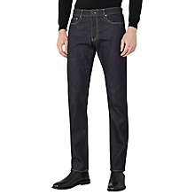 Buy Reiss Rush Straight Fit Jeans, Indigo Online at johnlewis.com
