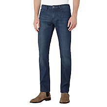 Buy Reiss Kraft Denim Slim Jeans, Mid Blue Online at johnlewis.com