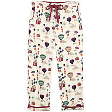 Buy Fat Face Winsley Fly Away Print Pant, Ivory Online at johnlewis.com