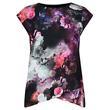 Buy Oasis Winter Floral T-Shirt, Multi Online at johnlewis.com