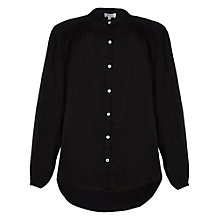Buy Ghost Sybil Blouse, Black Online at johnlewis.com