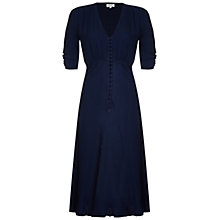 Buy Ghost Sabrina Dress, Navy Online at johnlewis.com