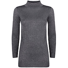 Buy Damsel in a dress Melody Turtle Neck Jumper, Grey Online at johnlewis.com