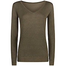 Buy Damsel in a dress Vita Jumper, Khaki Online at johnlewis.com