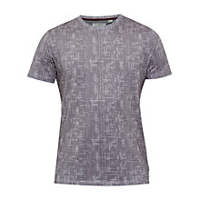 Buy Ted Baker Ferdy Crosshatch T-Shirt, Grey Online at johnlewis.com