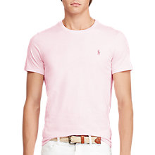 Buy Polo Ralph Lauren Short Sleeve Custom Fit Crew Neck T-Shirt Online at johnlewis.com