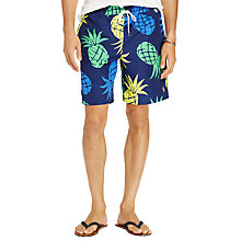 Buy Polo Ralph Lauren Captiva Pineapple Print Swim Shorts, Multi Online at johnlewis.com