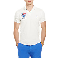 Buy Polo Ralph Lauren PRL Yacht Club Custom Fit Polo Shirt Online at johnlewis.com