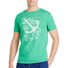 Buy Polo Ralph Lauren Crew Neck, Academy Green Online at johnlewis.com