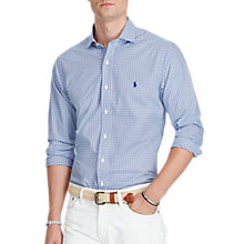 Buy Polo Ralph Lauren Poplin Medium-Spread Collar Slim Shirt Online at johnlewis.com