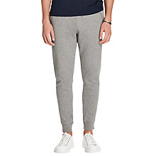 Buy Polo Ralph Lauren Fashion Jersey Sweat Pants, Winter Grey Heather Online at johnlewis.com