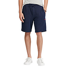Buy Polo Ralph Lauren Jersey Shorts, Cruise Navy Online at johnlewis.com