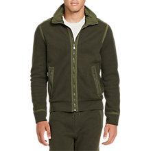 Buy Polo Ralph Lauren Birdseye Cotton-Blend Hoodie, Company Olive Online at johnlewis.com